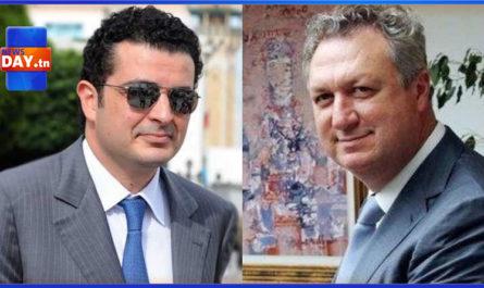 وزير المالية و مروان المبروك