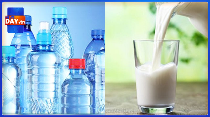 أسعار الماء و الحليب