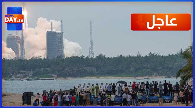 بالصور/ الصين تكشف عن مكان سقوط الصاروخ الخارج عن السيطرة