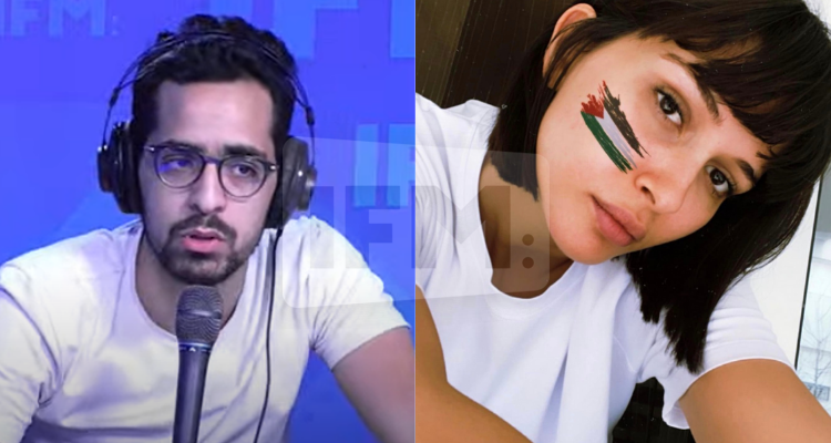 يوسف صحري بحري يستعرض قائمة الفنانين المساندين للقضية الفلسطينية