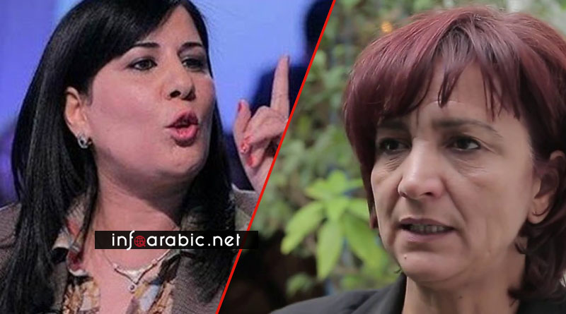 سامية عبو تحدث ثورة صلب التيار الديمقراطي و تطالب بسحب الثقة من هؤلاء
