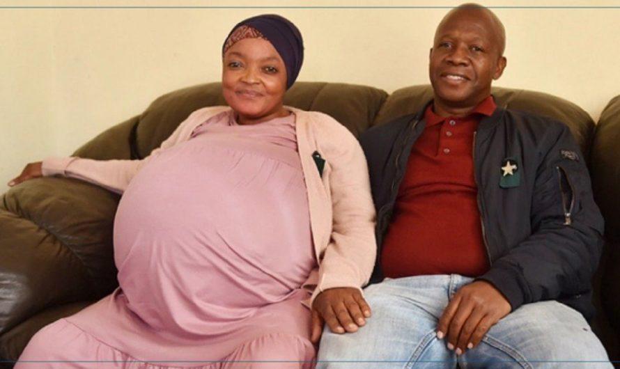 جنوب أفريقيا: امرأة تلد 10 أطفال وتحطم رقما قياسيا عالميا ( فيديو +صور)