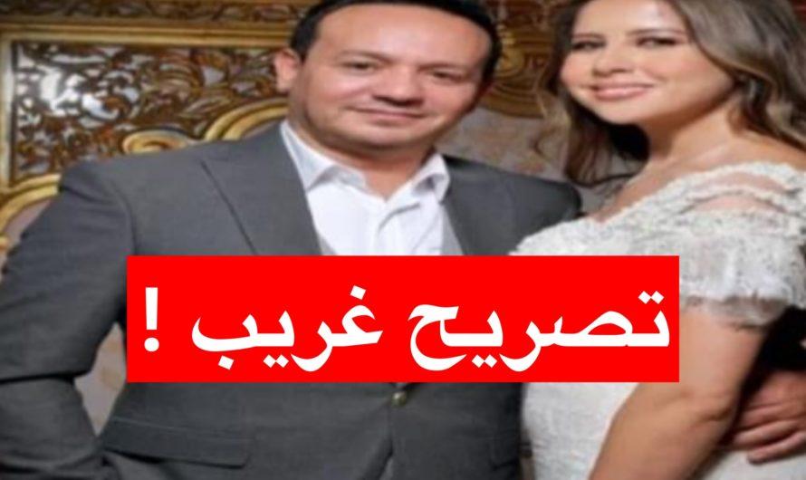 تصريح غريب من علاء الشابي بعد زواجه من ريهام بن عليّة (صور)