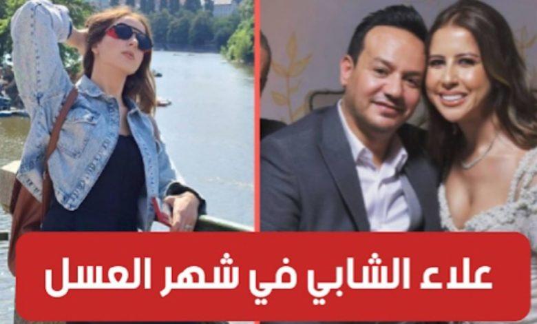 بالفيديو : علاء الشابي يقضي شهر العسل رفقة زوجته في إحدى الدول الأوروبية