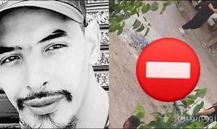 وفاة شاب جزائري حرقا